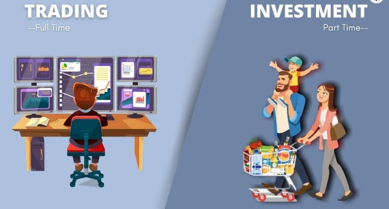 Trading vs Investment - top online tool
