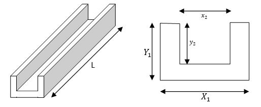 metal weight calculator - U section beam